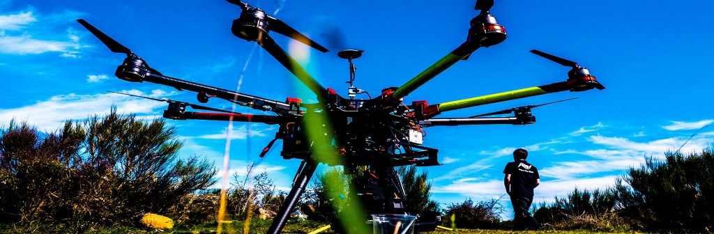 equipo filmacion aerea I